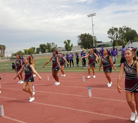 Pop Warner Cheer Torrance Panthers