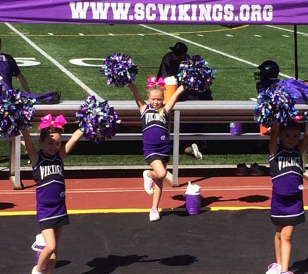 Pop Warner Cheer Santa Clarita Vikings