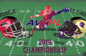 Pee-Wee Championship Division I: Lemoore Lil Tigers vs. Hanford Rebels VOD